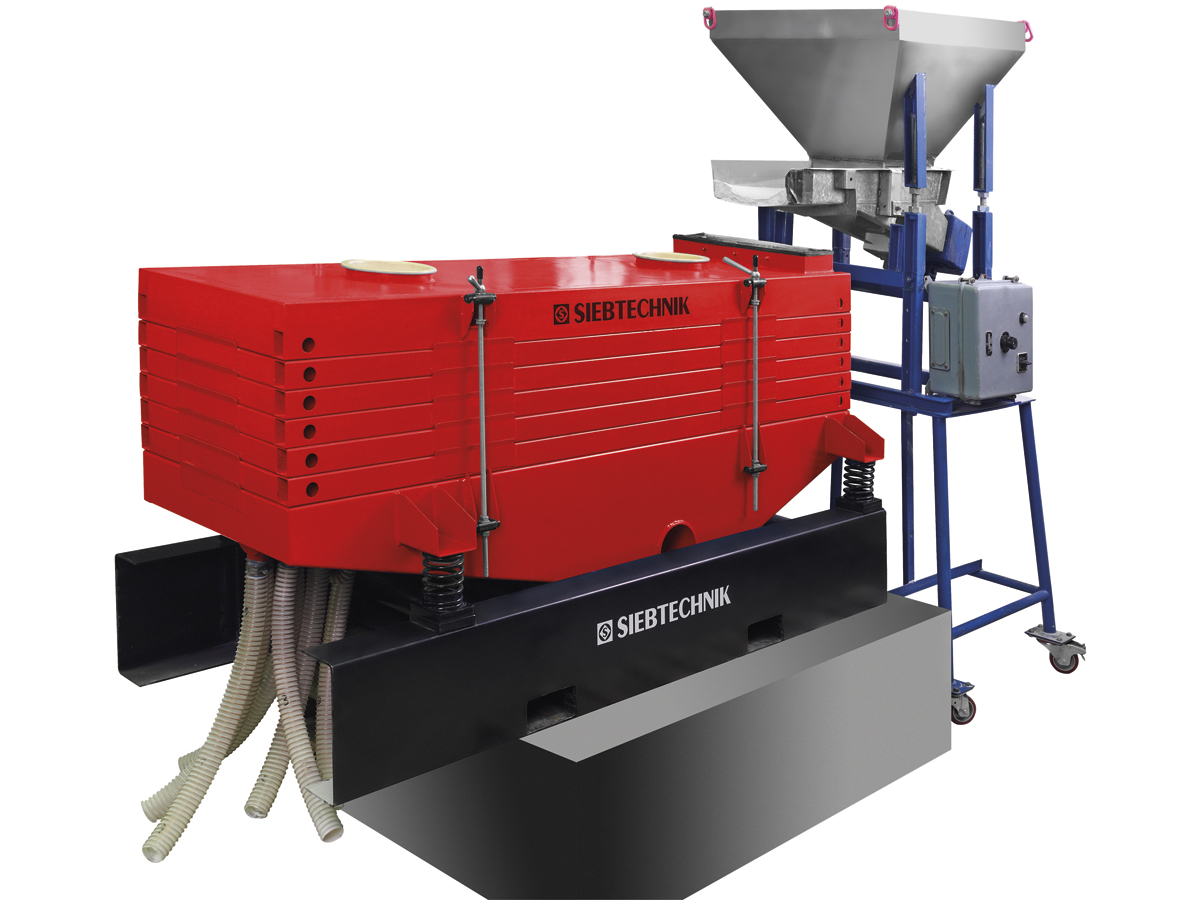 Multi-deck screening machine MHR