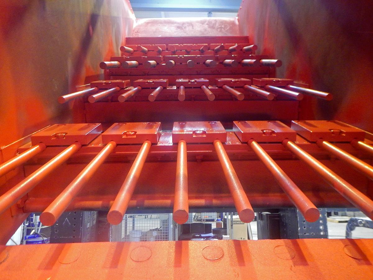Linear-motion screening machine HR 14-40-I FR