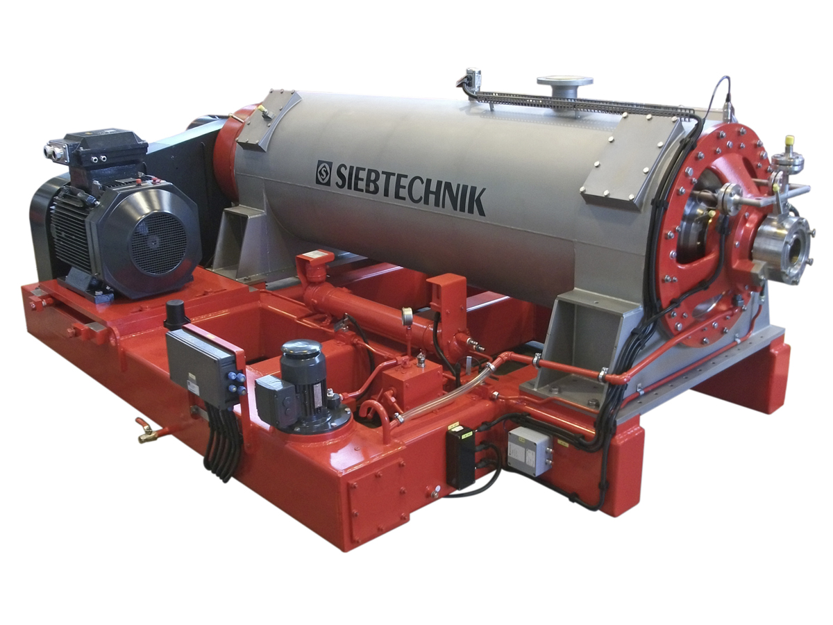 TS decanter centrifuge