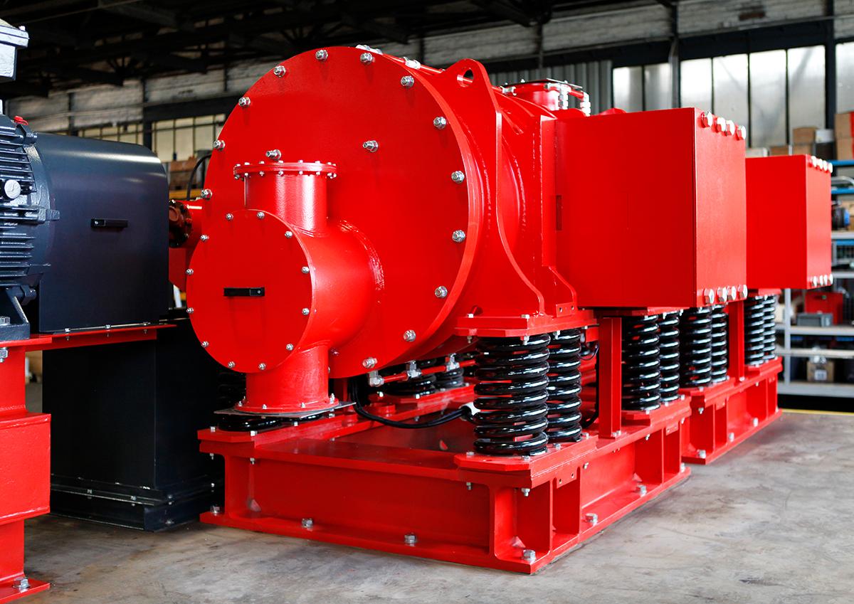 Eccentric vibrating mill ESM 856-2ks