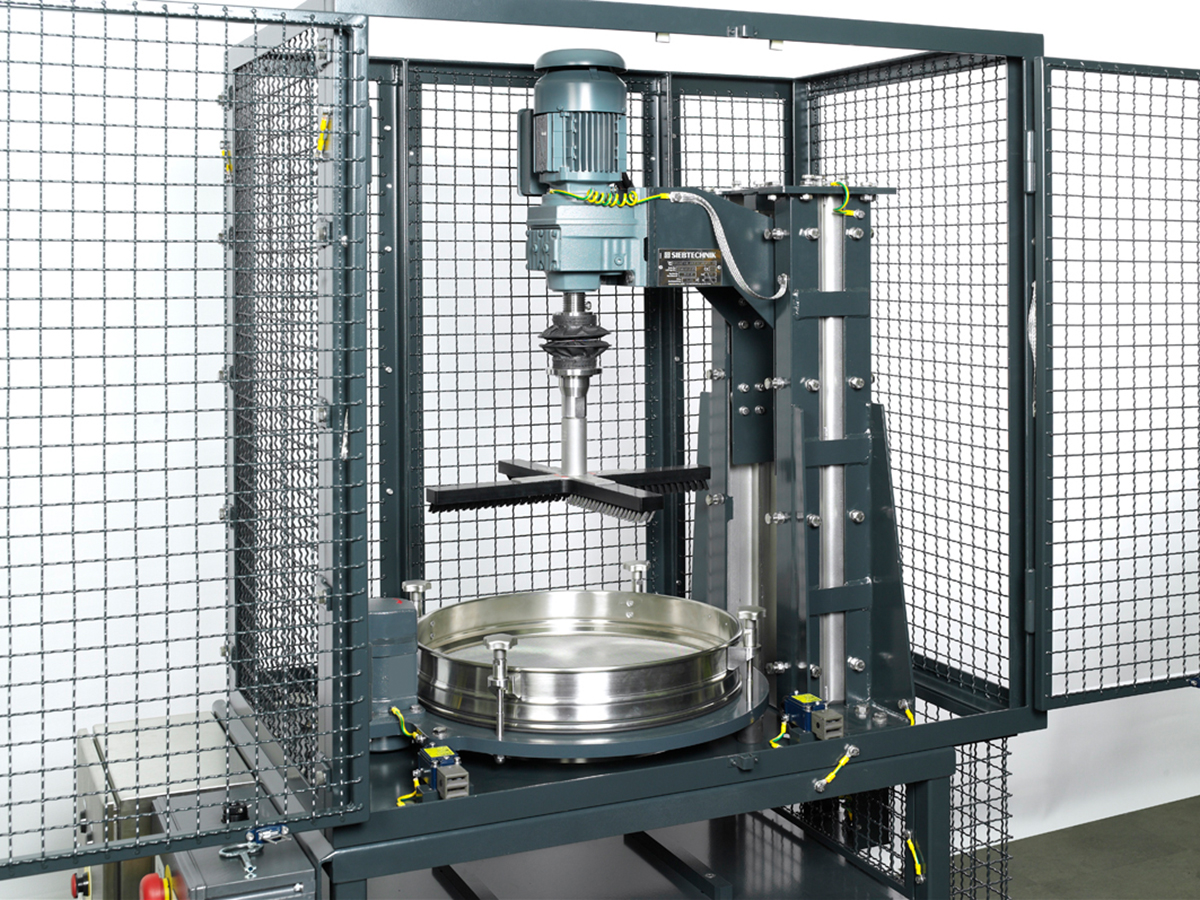 Control screening machine PERFLUX - ATEX