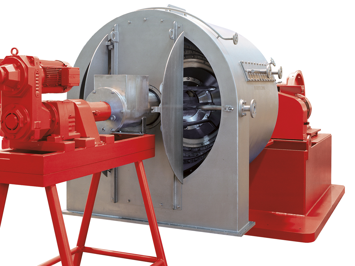 SHS pusher centrifuge