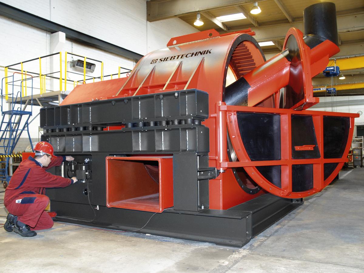 HSG vibrating centrifuge 1650