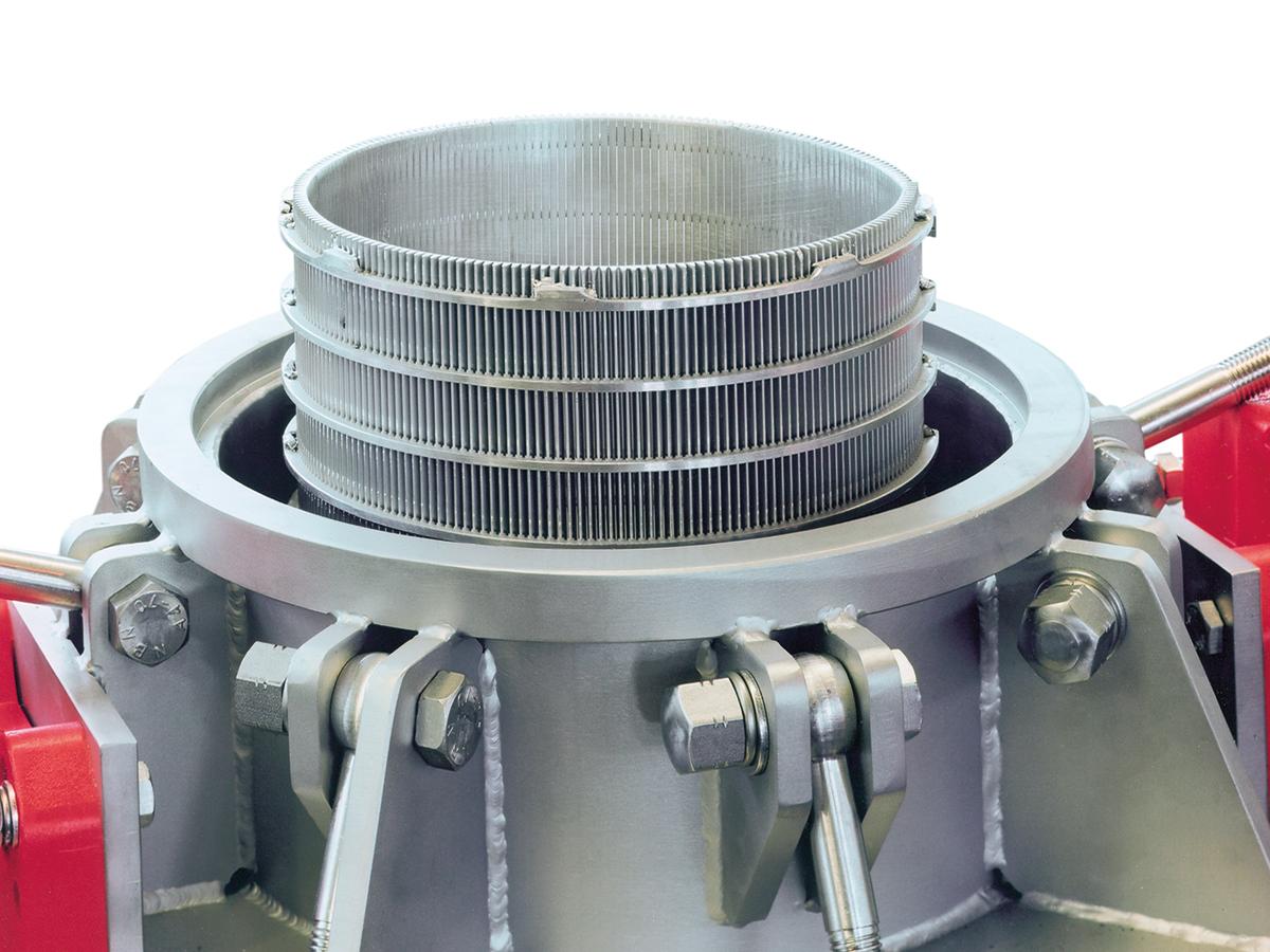 Suspension control screening machine SKS 202