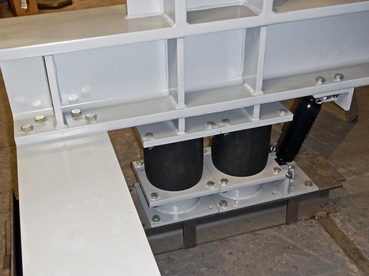 Banana screening machine BHG 24-60-I WS Counter-vibration frame