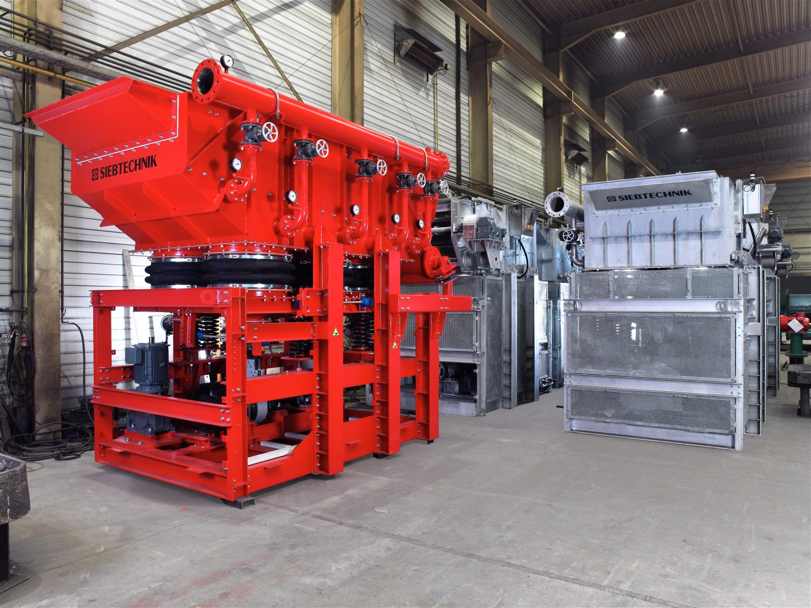 Pulsator jig SK 16-33 for ore & Pulsator jig SK 16-25 (galvanized) for gravel
